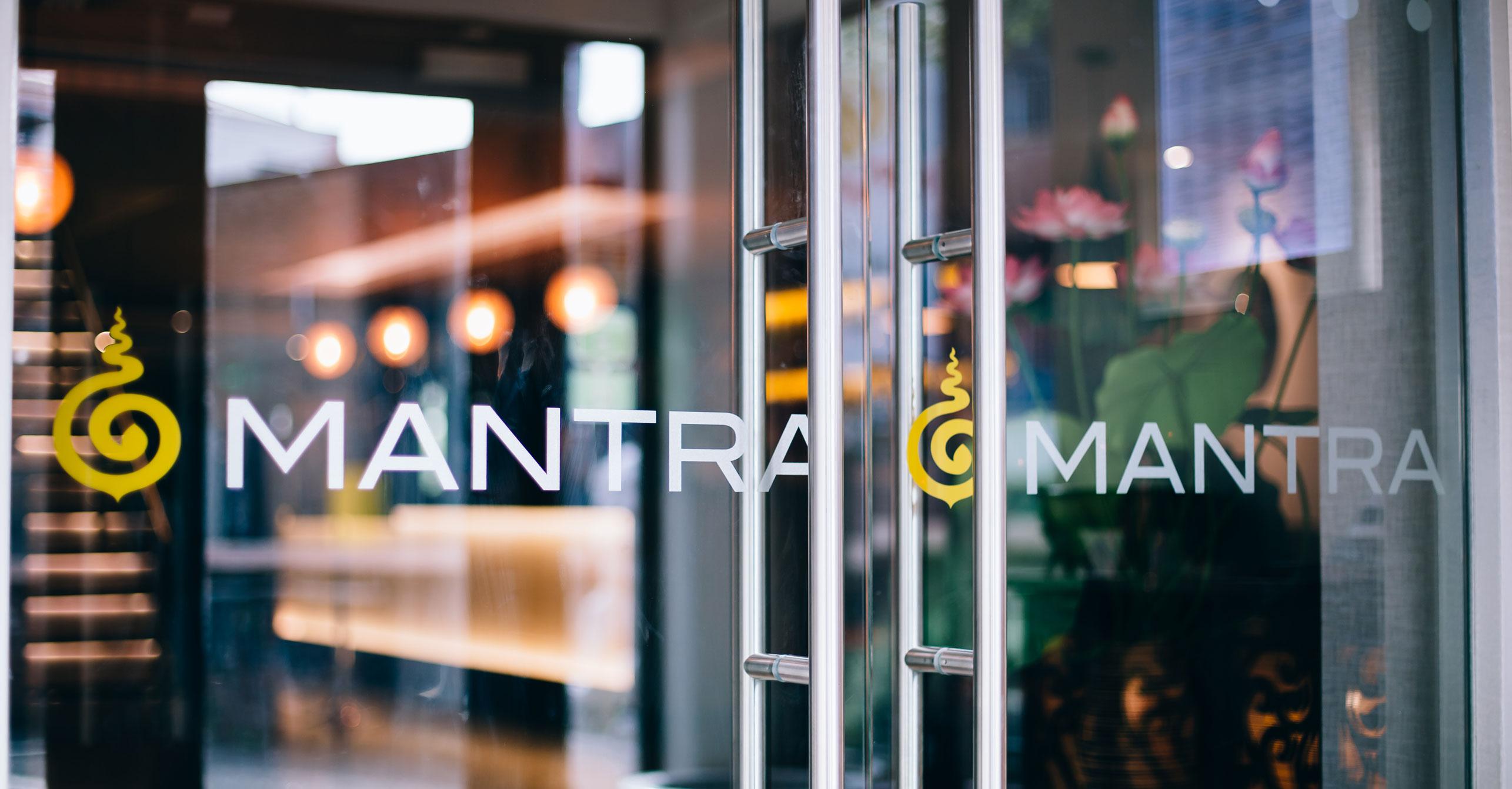 mantra brand window